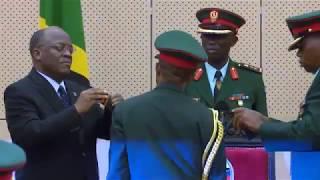 Rais Mhe  Dkt  Magufuli Amuapisha Luteni Jenerali Yakubu Hassan Mohamed Kuwa Mnadhimu Mkuu Wa JWTZ