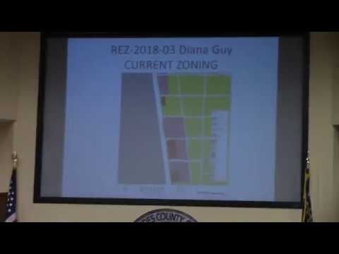 6c. REZ-2018-03 Diana Guy, 2497 Madison HWY, C-G to C-G & C-H, 4.04 acres