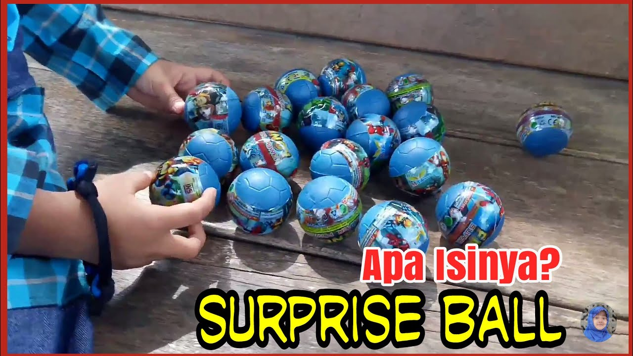 Egg Surprise Mainan Anak Bola Ball Eggs Telur Plastik