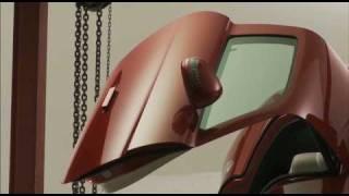 Nick Knight & Gareth Pugh for Mercedes-Benz SLS AMG