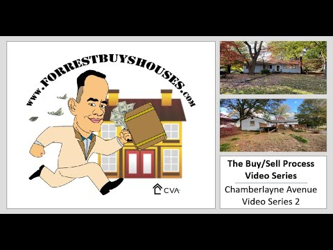 The Buy/Sell Process - Chamberlayne Ave Series 2 | Call Today! 804-409-2910
