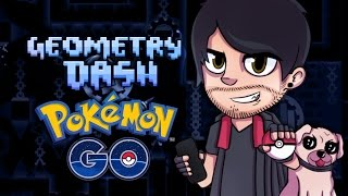 POKEMON GO GEOMETRY DASH