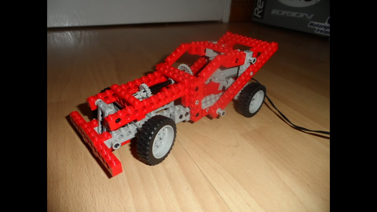 Lego Technic Car Build From Start To Finish. 8064.