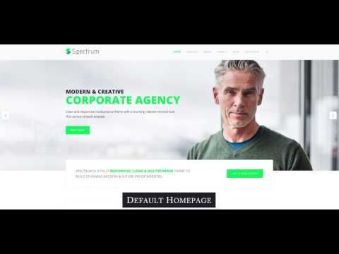 Premium responsive Joomla template for business & agency sites