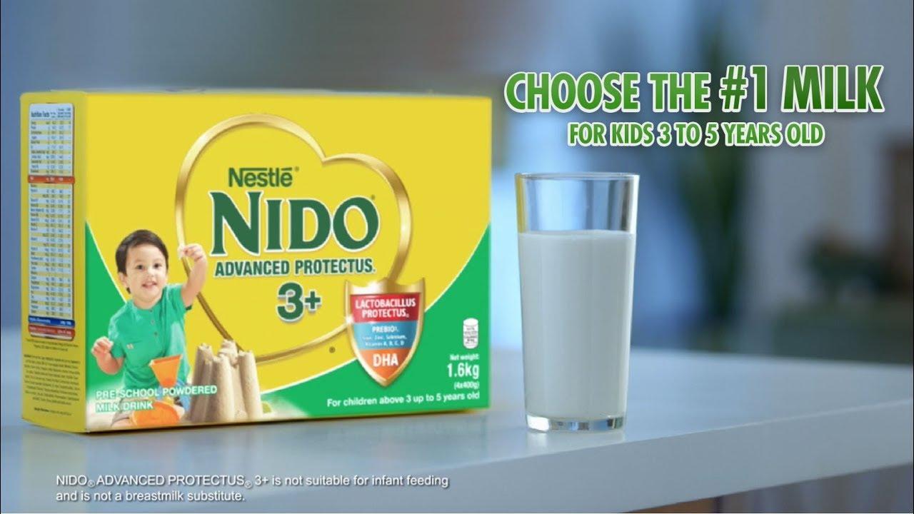 Bagay ba sa 3-year-old mo ang milk niya? | NIDO Advanced Protectus 3+ |  Nestlé PH