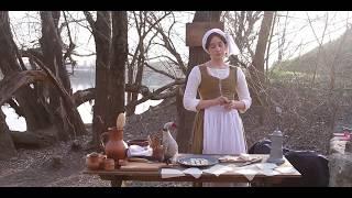 3 Средневековая кухня Англии. Лазанья «Способы приготовления еды» 1390г.