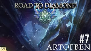 League of Legends l Road To Diamond Ep 7 (S5) l Shyvana (jungle) l Magyar Kommentárral .