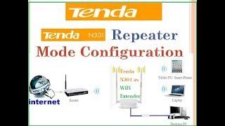 Tenda N300 Repeater-Modus-Konfiguration mit AP
