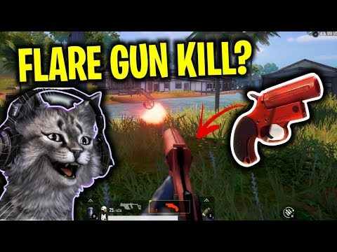 NGE-KILL PAKE FLARE GUN..??   PUBG Mobile
