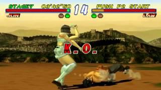 Tekken 2 - Jun Arcade Mode (PS1)