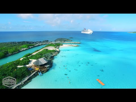 4K Bahamas Adventure - Carnival Cruise Lines - Inspire 1 Drone Test