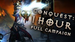 Sprinter Conquest: Full Campaign in 1 hour (Diablo 3 Reaper of Souls Livestream)