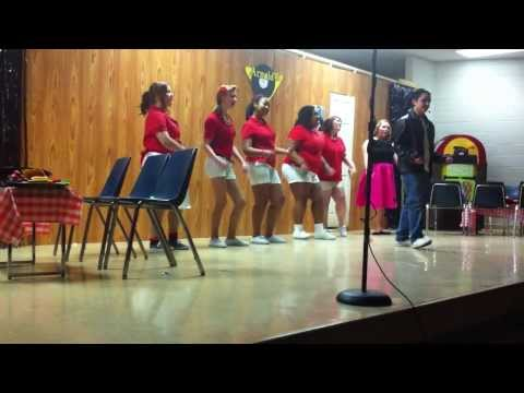 Happy Days-musical play 2014 Part 1