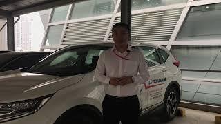 Khám Phá Chức Năng Tự Kích Hoạt Đỗ Phanh Tay Điện Tử Khi Tắt Máy Trên CRV 1.5 Turbo 2017 2018 2019