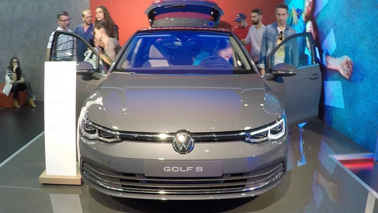 New 2021 Vw Golf 8 Exterior Interior Youtube