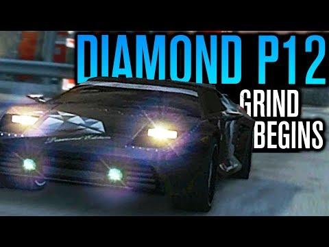 RARE DIAMOND P12 GRIND BEGINS!!!