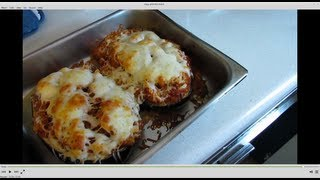 Oven Baked Stuffed Eggplant Recipe