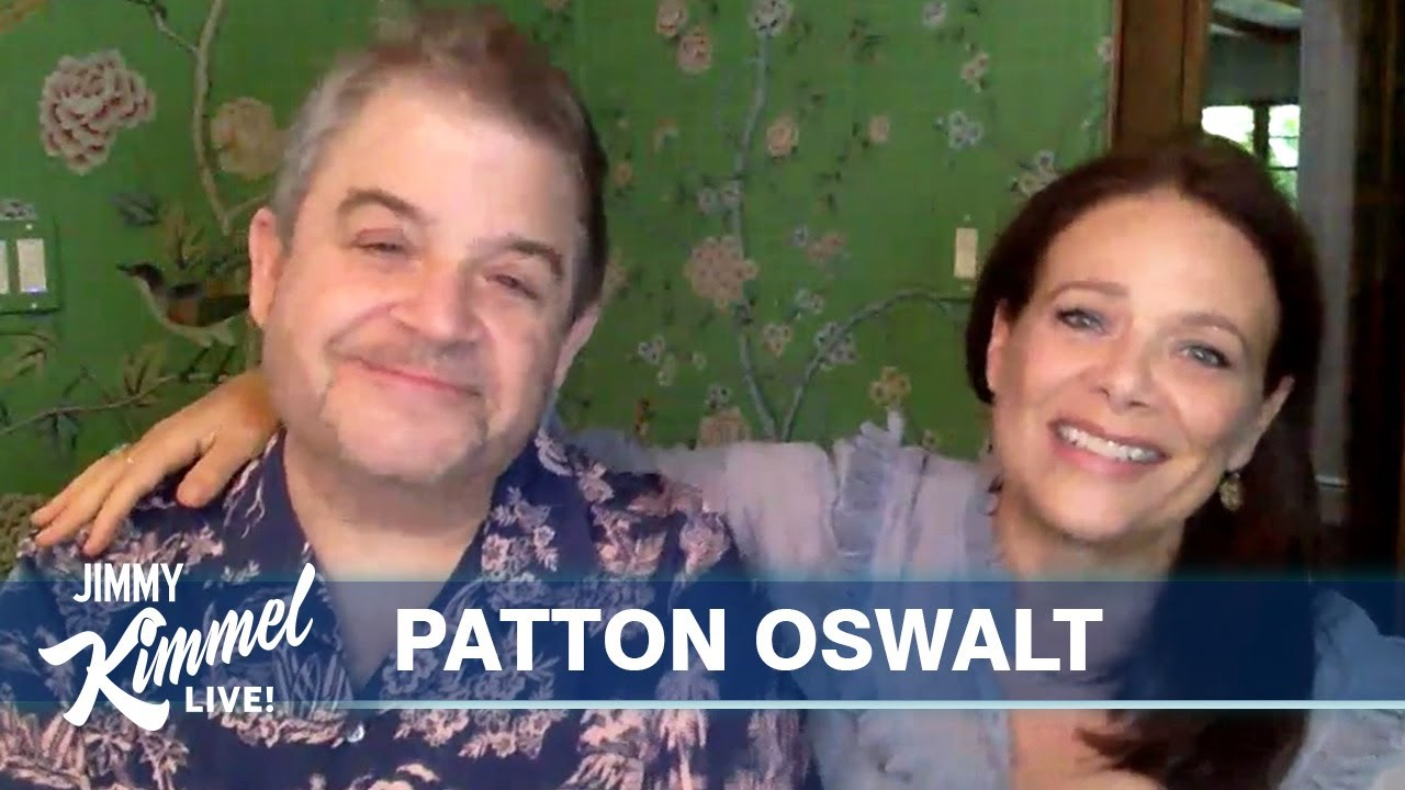 Patton Oswalt and Meredith Salenger Are So Sweet Together