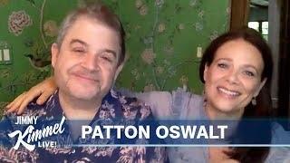 Patton Oswalt & Wife Meredith Salenger Clear Up Big Fight