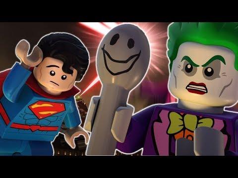LEGO Justice League Gotham City Breakout | Superpowers vs Spoony | DC Kids