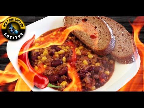 Chili con carne alias chilis bab