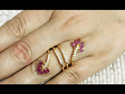 TOP Beautiful dailywear Gold rings Designs for Women South INDIAN