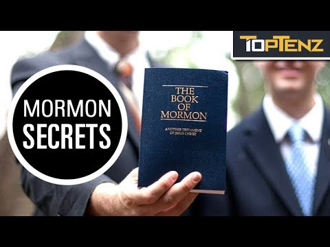 Top 10 Facts The Mormon Church Doesn't Want Its Members To Know