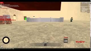Roblox:The Murder w/ ArcherMaster90 Special Guest/ diegoc00Lguy44