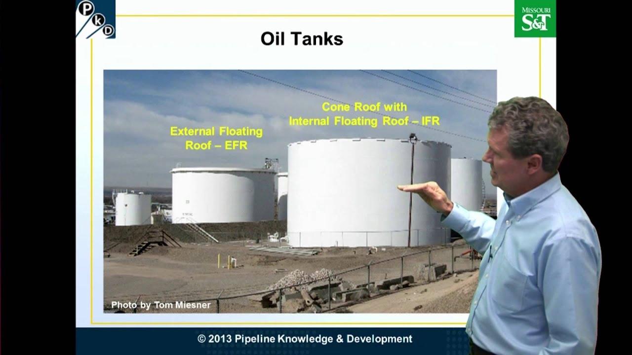 Atmospheric Storage Tanks Floating Roofs Youtube