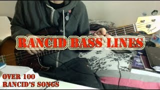 Rancid - Dope sick girl Bass Cover