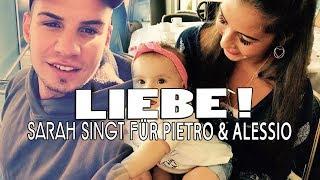 "SARAH singt ""Phänomenal"" für ALESSIO   PIETRO LOMBARDI nennt sie trotzdem ""Fischkopf"""