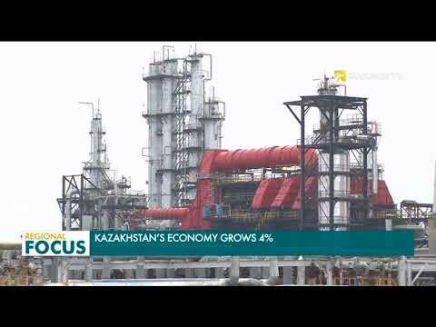Kazakhstan's GDP in January-February 2018 grew 4 percent