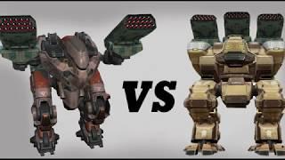 Fury (zenit) vs Butch (zenit) Test | War Robots