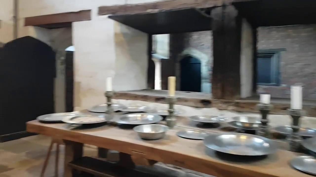 Tudor Kitchens at Hampton Court Palace - YouTube