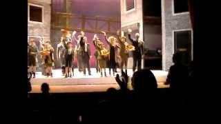 Slot applaus laatste Kruimeltje groep F theater de nieuwe Kolk Assen 14-03-2012