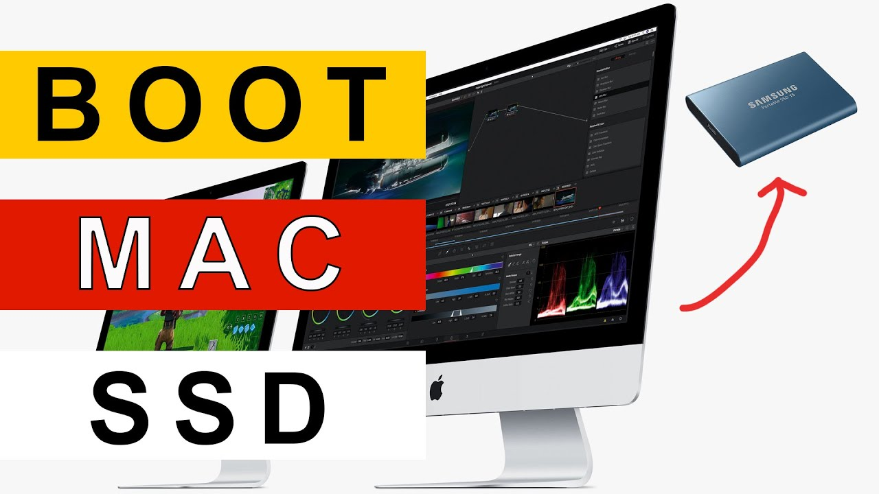Speed up Your Older iMac by Booting to an External Solid State Drive