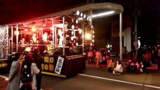 日高火防祭前夜祭 平成29年奥州水沢42歳厄年連飛龍陣あじゃら節バンドアップ