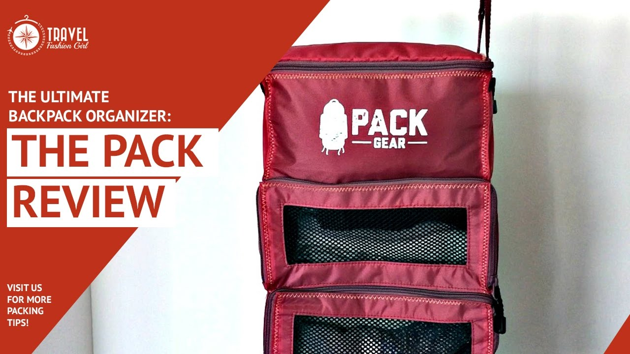The Ultimate Backpack Organizer: The Pack Review - YouTube