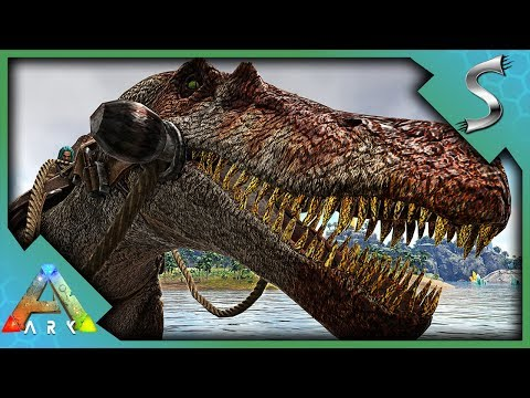 THIS THING IS OP!! JURASSIC SPINO TAMING! - Ark: Jurassic Park [E33]