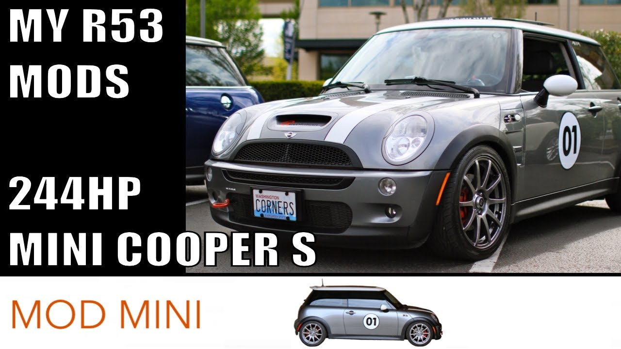 My 244HP R53 MINI Cooper S Mods A Test Drive