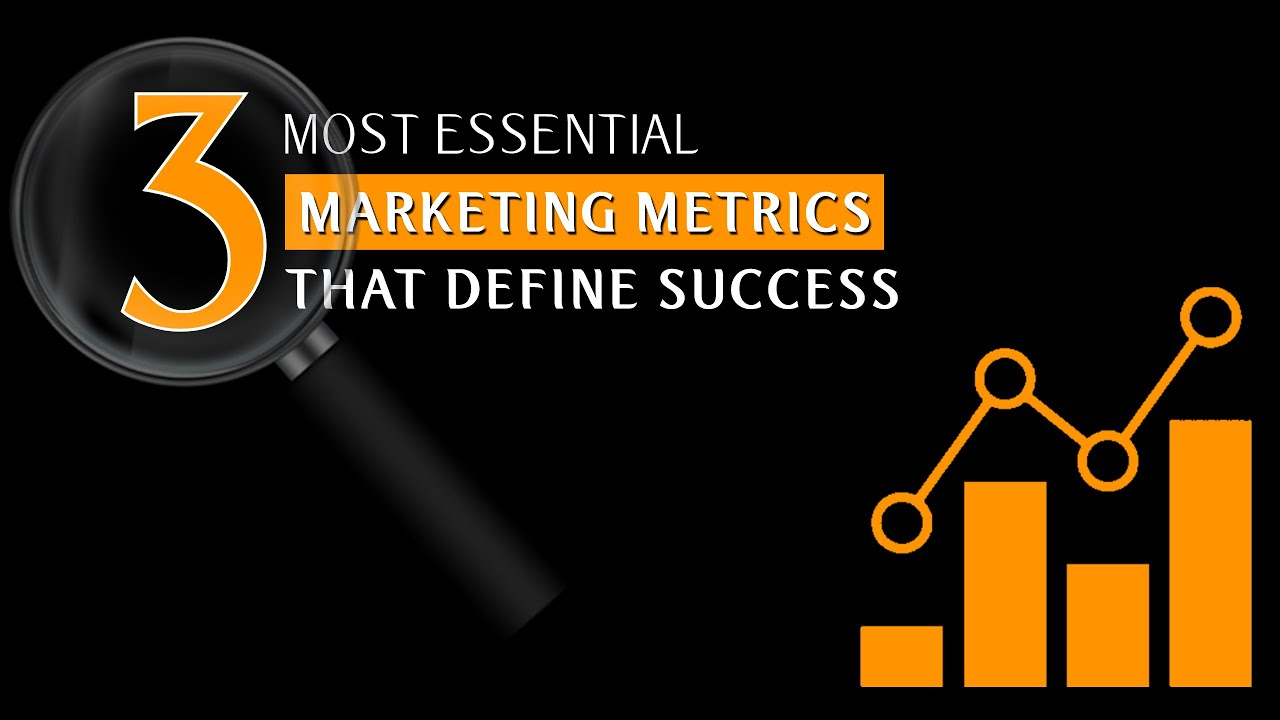 3 Critical Marketing Metrics that matters most I Metrics That Define Success