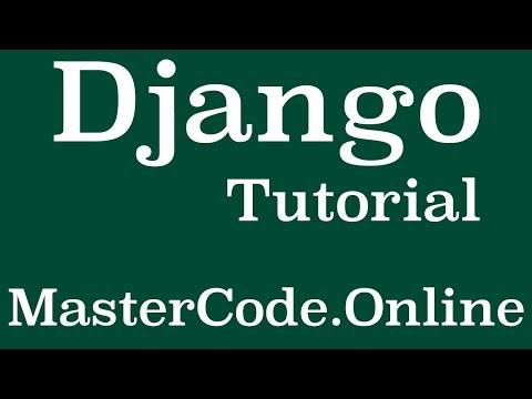 Django Tutorial  - User Profile Model