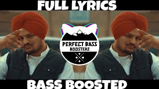 Gambar cover TIBBEYAN DA PUTT [🔊 BASS BOOSTED &  FULL LYRICS 🔊] - SIDHU MOOSE WALA || P.B.B.