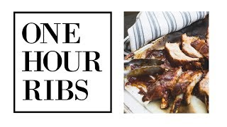 1 Hour Ribs - How to Make Ribs in the Instant Pot