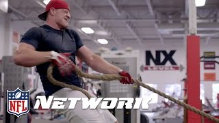Inside J.J. Watt's Workout Regime & 2011 Combine Training | NFL Network | Good Morning Football