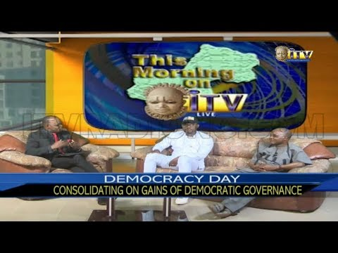 TMI: DEMOCRACY DAY: Consolidating on Gains of Democratic ...