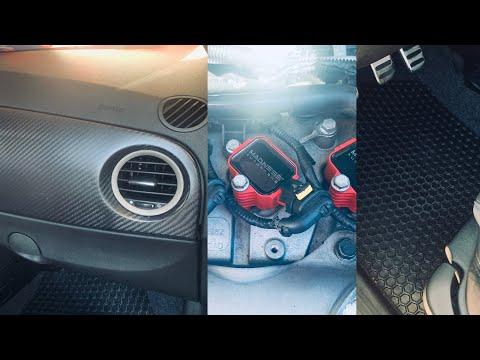 Fiat Abarth Magneti Marelli Carbon Fiber Dash, Madness 500 Coil Packs & Hexomat
