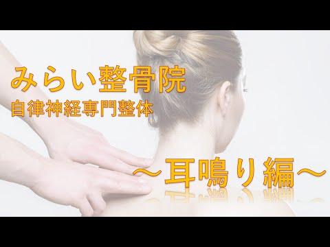 みらい整骨院 耳鳴りの施術動画