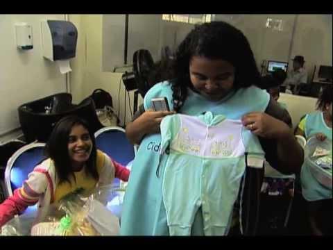 Em Del Castilho, RJ, mães recebem o apoio da LBV