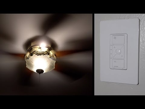 Lutron Caseta Smart Fan Control Review - with HomeKit support!